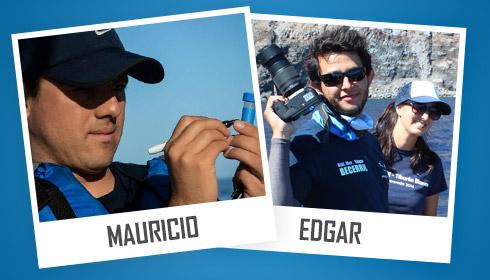 Mauricio and Edgar